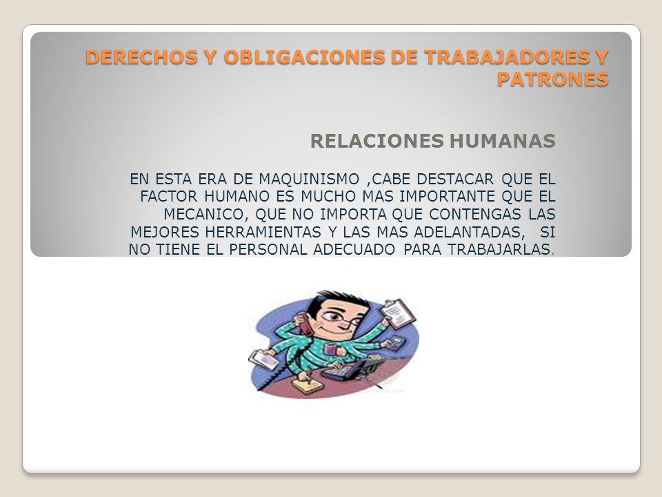 DERECHOS Y OBLIGACIONES DE TRABAJADORES Y PATRONES CARTAS DE SERVICIO CUANDO EL TRABAJADOR SE SEPARA DE UNA EMPRESA ES NATURAL QUE PRETENDA OBTENER UNA CARTA DE SERVICIO QUE LE SIRVA DE RECOMENDACIÓN POR SI DESEA TRABAJAE EN EL FUTURO.