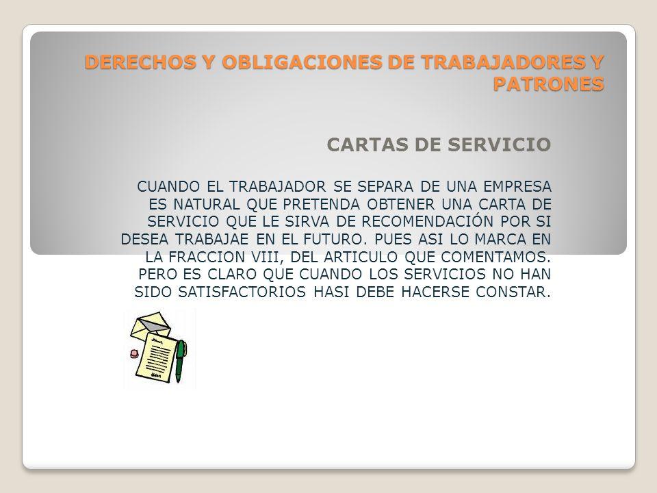 DERECHOS Y OBLIGACIONES DE TRABAJADORES Y PATRONES LUGARES PARA GUARDA CUANDOEL TRABAJADOR, TIENE QUE USAR OBJETOS PERSONALES, EL PATRON ESTA OBLIGADO A PROPORCIONAR UN LOCAL SEGURO PARA LA GUARDA DE AQUELLOS.