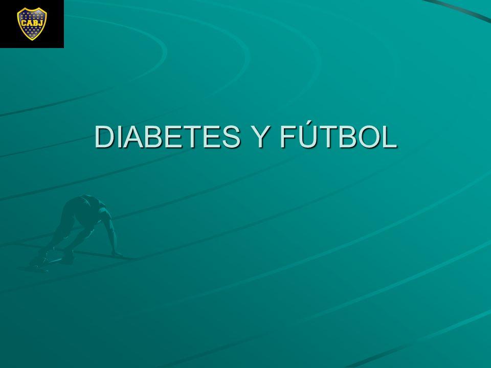 DIABETES Y FÚTBOL