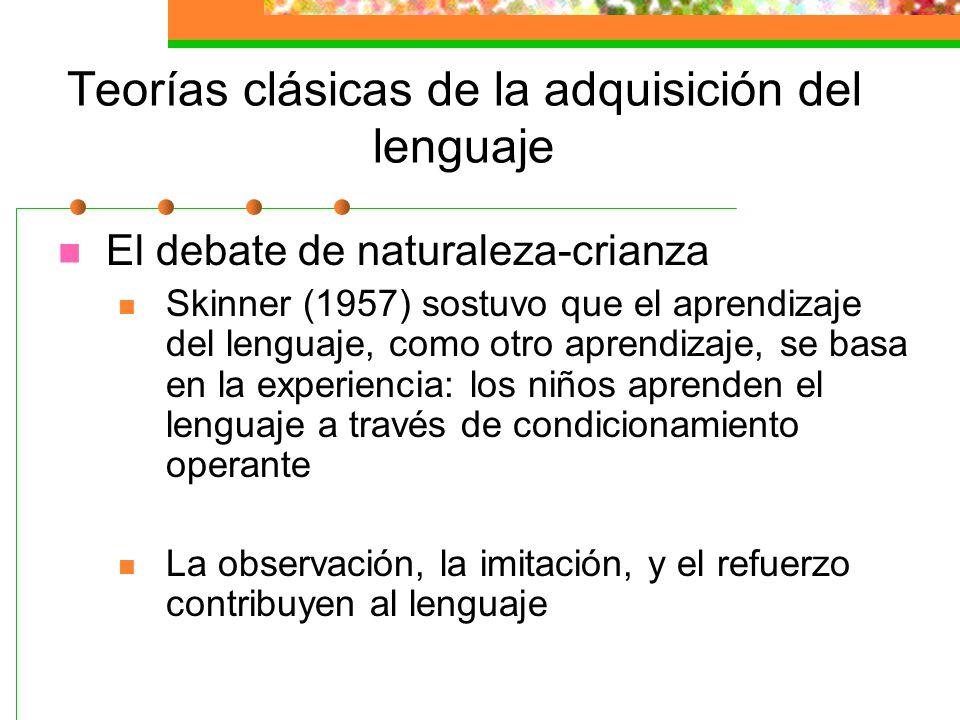 Dicotomías con respecto al desarrollo 1. maduración vs experiencia Naturaleza vs crianza. 2. continuidad vs discontinuidad 3. experiencia temprana vs