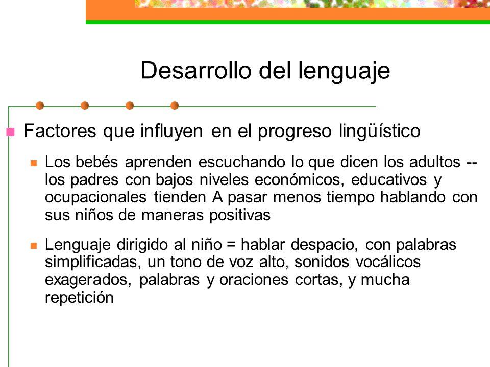 Teorías clásicas de la adquisición del lenguaje Debate de naturaleza-crianza Chomsky propuso que un Dispositivo de Adquisición del Lenguaje (DAL) prog