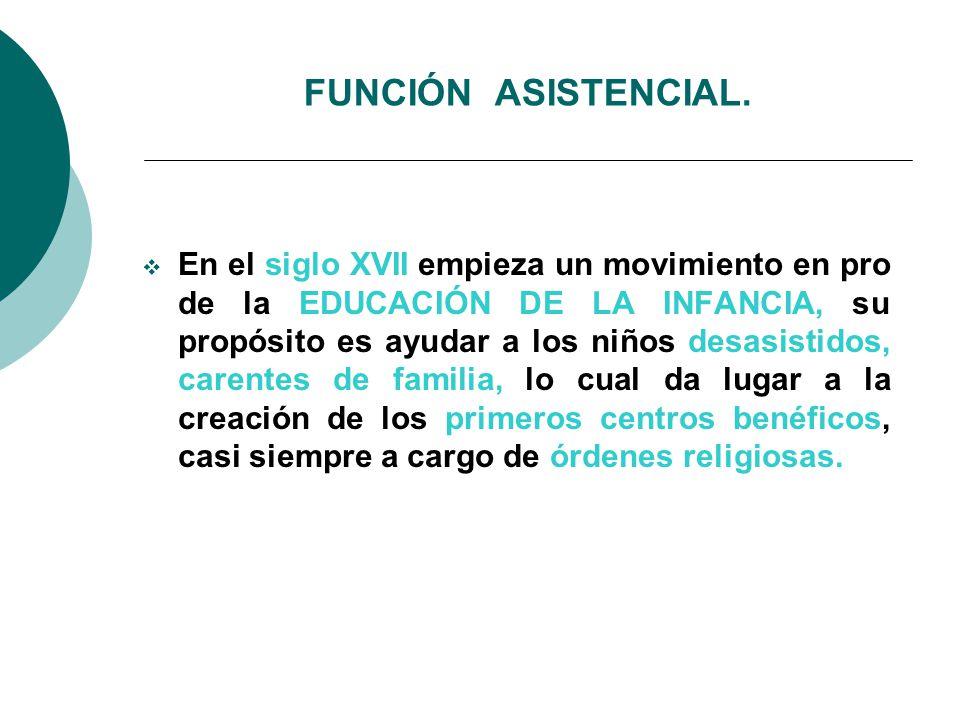FUNCIÓN ASISTENCIAL.