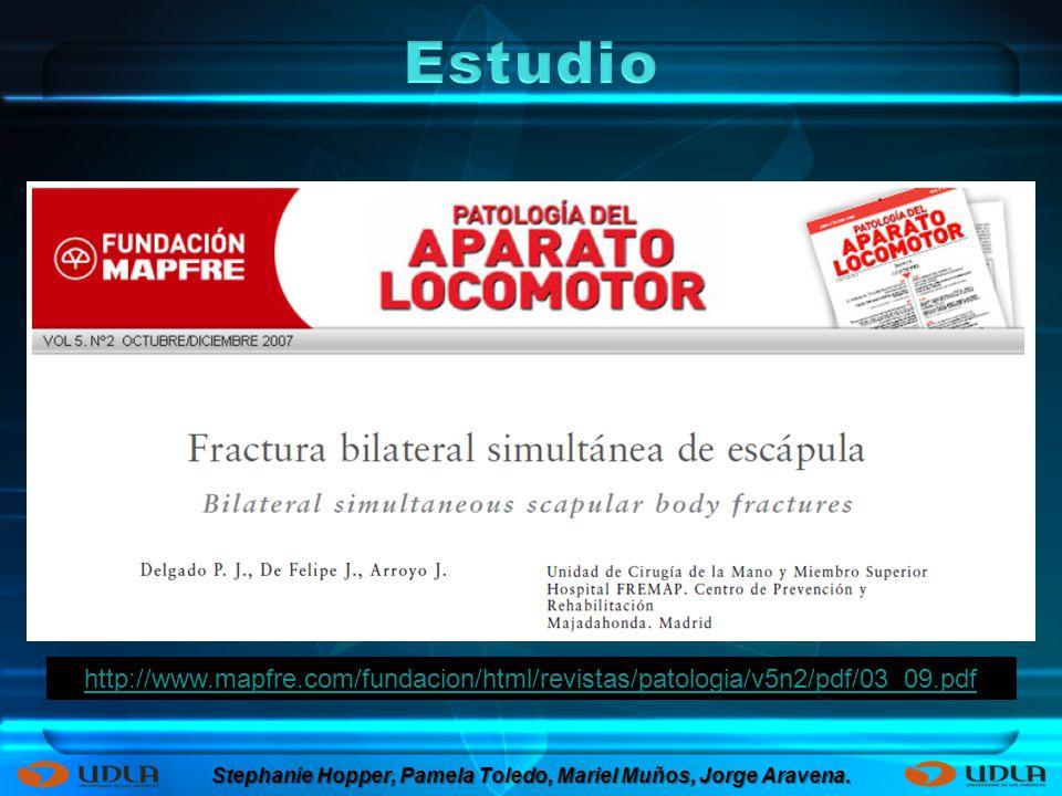 http://www.mapfre.com/fundacion/html/revistas/patologia/v5n2/pdf/03_09.pdf Stephanie Hopper, Pamela Toledo, Mariel Muños, Jorge Aravena.