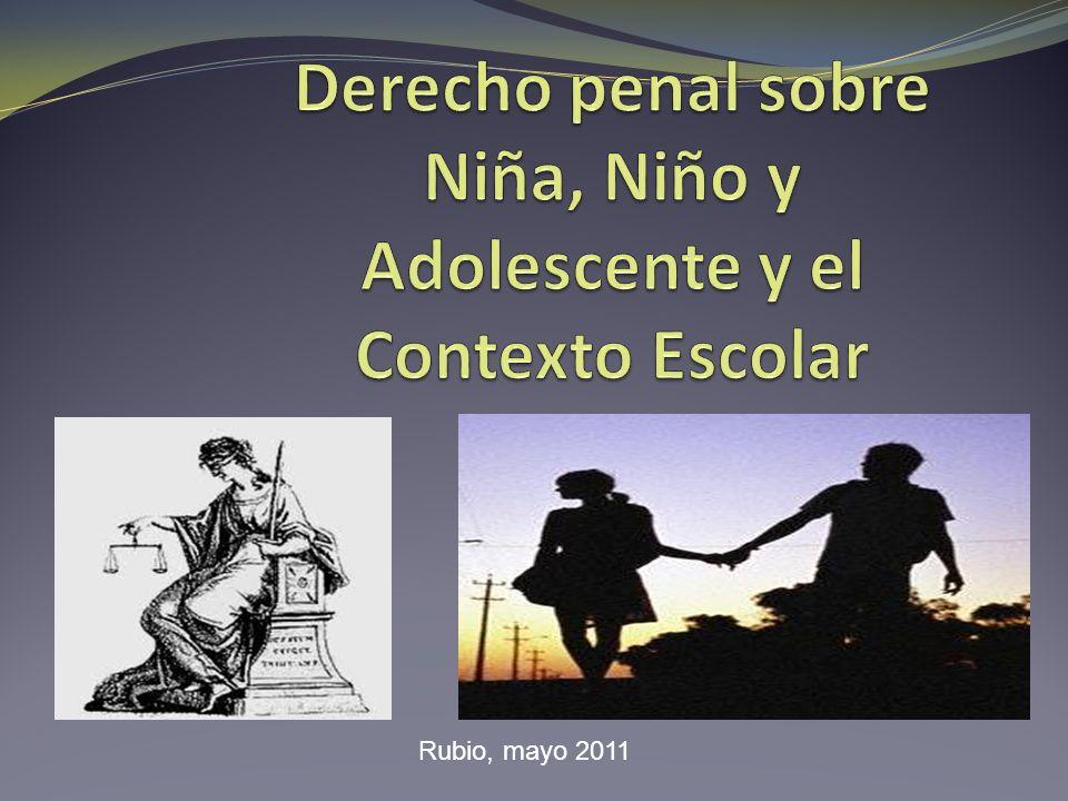 Ante la Ley Niños = inimputables /se aplican medidas de protección Adolescentes= sancionables Adultos= imputables