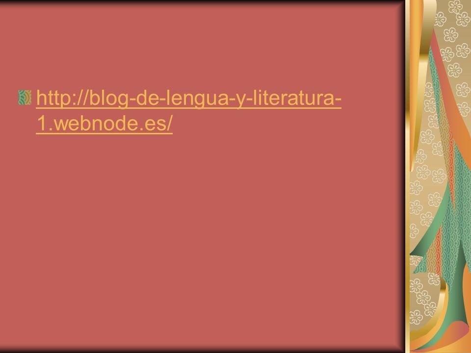 http://blog-de-lengua-y-literatura- 1.webnode.es/