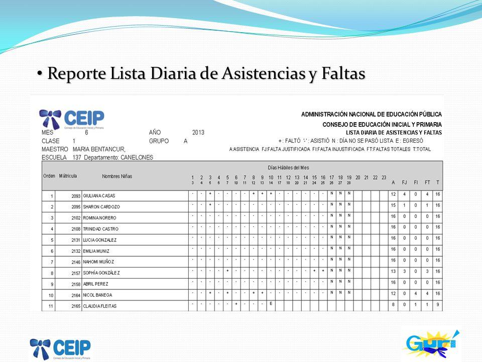 Reporte Auxiliar de Matrícula Reporte Auxiliar de Matrícula