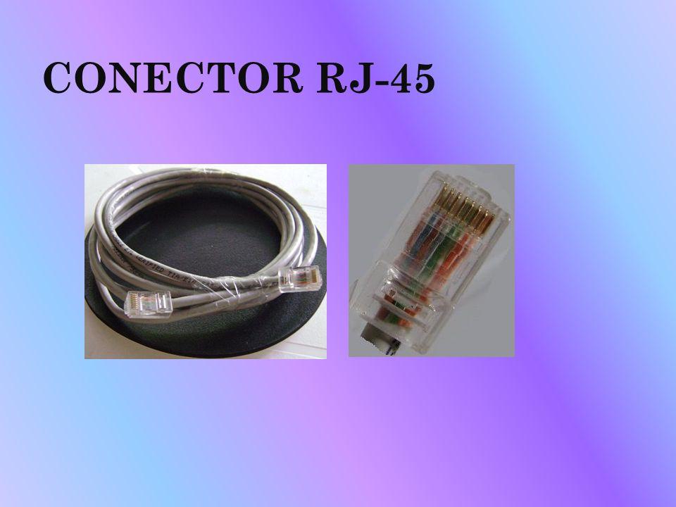 CONECTOR RJ-45