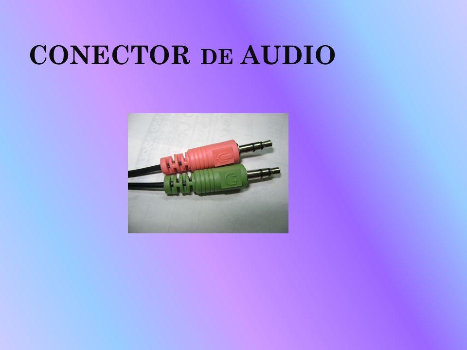 CONECTOR DE AUDIO