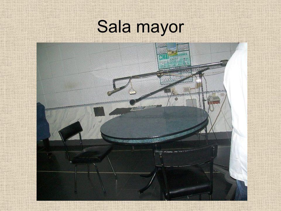 Sala mayor