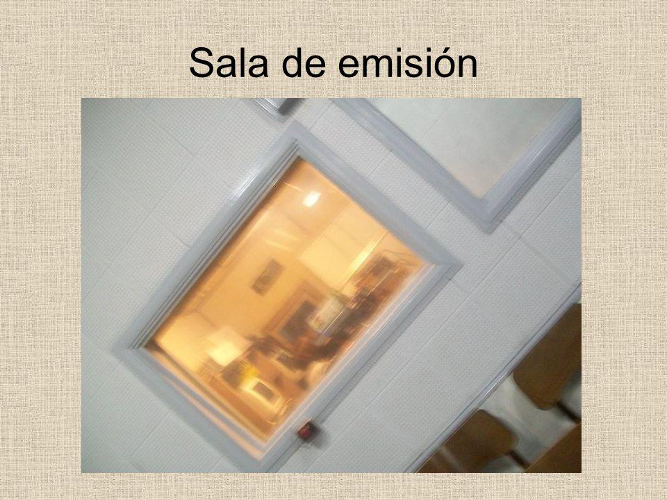 Sala de emisión