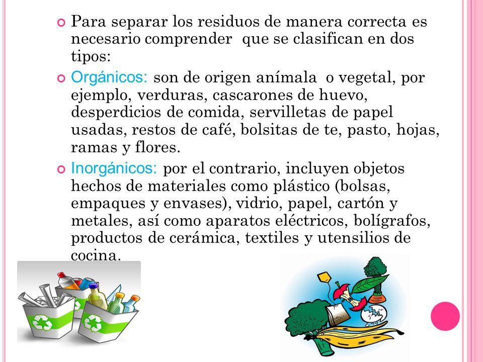 Para disminuir la generación de materiales contaminantes es importante llevar acabo acciones como las siguientes: Reducir el consumo de algunos produc