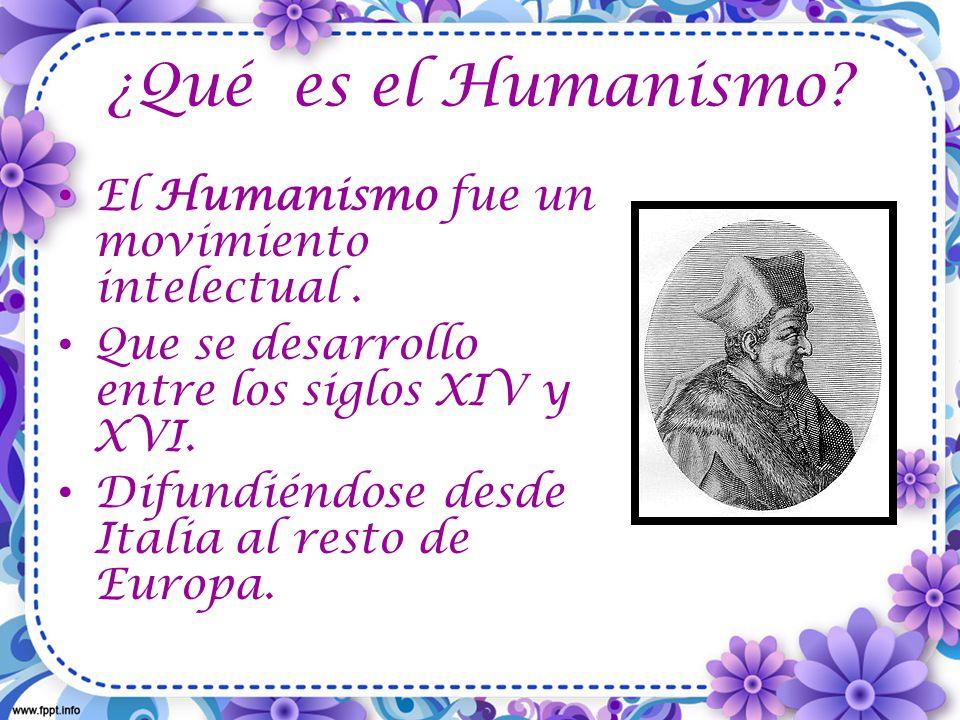 ¿Cuáles fueron los pilares del Humanismo.Fueron: 1)La revalorización del antiguo mundo clásico.