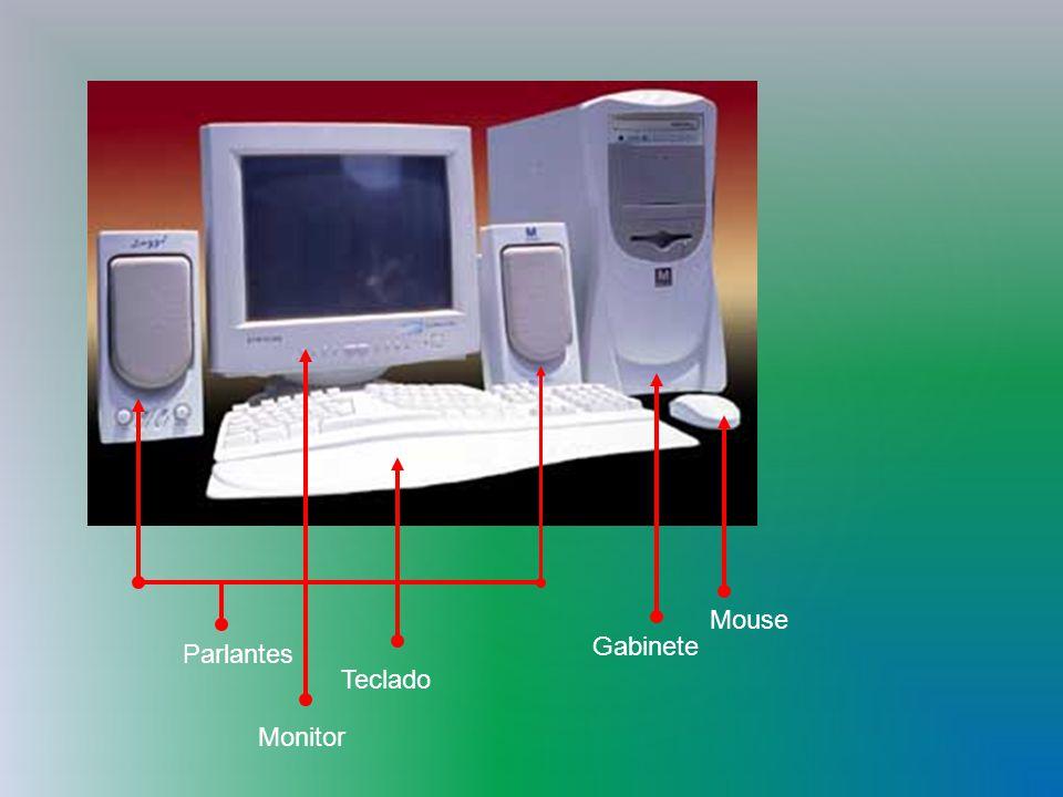 Parlantes Teclado Gabinete Mouse Monitor