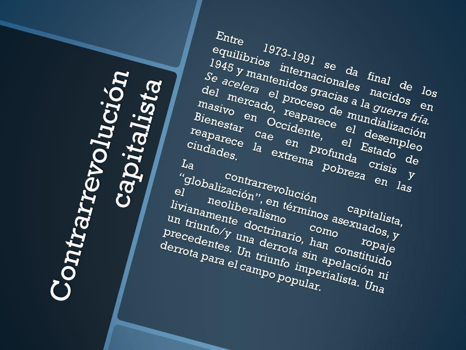 Centralidad del trabajo precario El trabajo, la producción y la seguridad social sufrieron los efectos perversos de esta política.