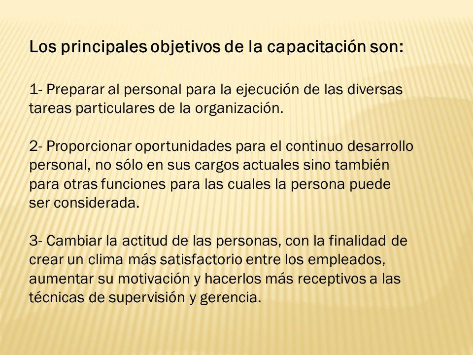 Como beneficia la capacitación a las organizaciones: · Conduce a rentabilidad más alta y a actitudes mas positivas.