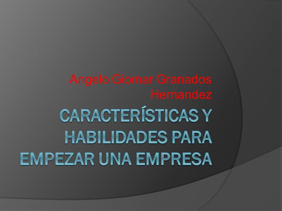 Angelo Giomar Granados Hernandez