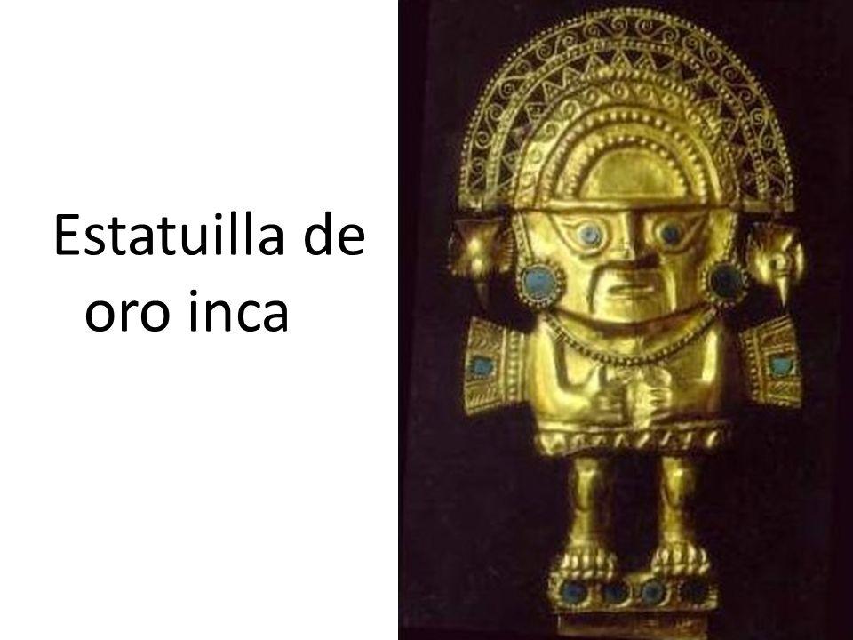 Estatuilla de oro inca