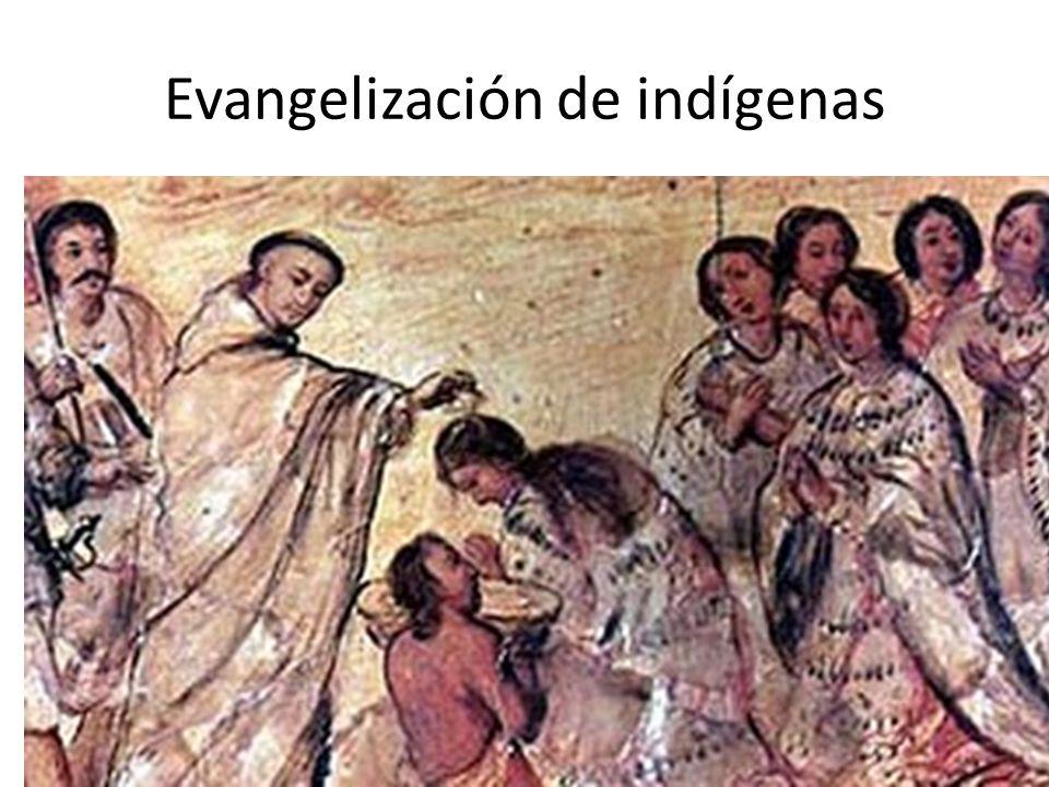 Evangelización de indígenas