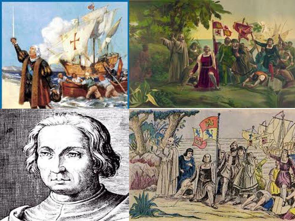 VIAJES DE COLON El descubrimiento del Nuevo Mundo se pudo efectuar por la protección que prestaron los Reyes Católicos al insigne navegante genovés Cristóbal Colón.