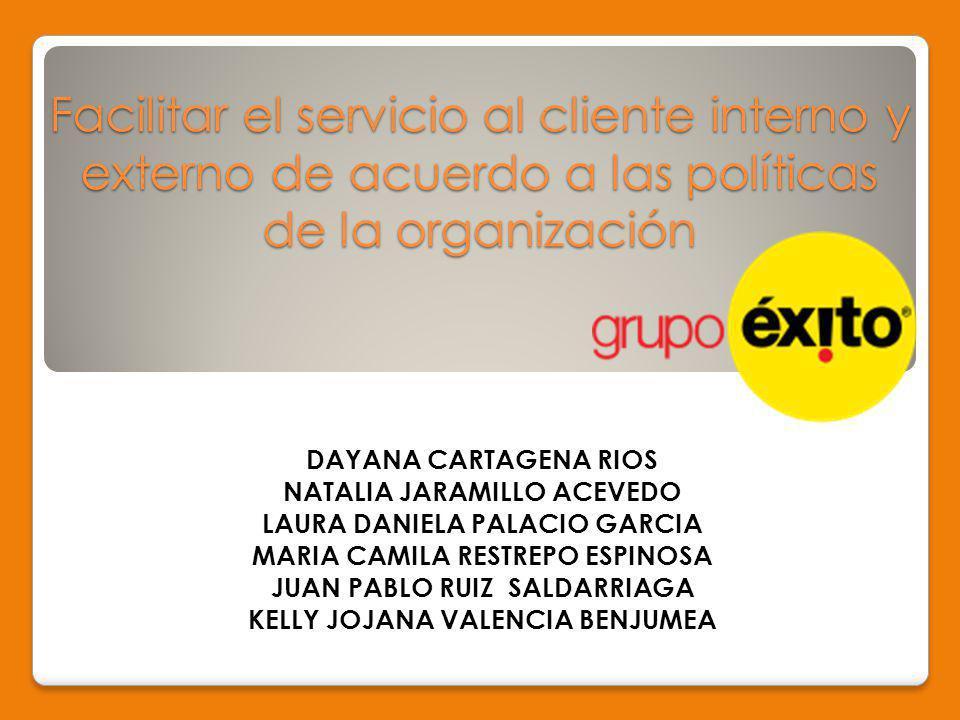 GRUPO ÉXITO Es una entidad de negocios, líder del comercio al detal en Colombia con 427 almacenes en el país.