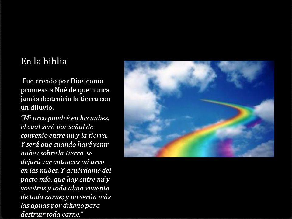 Procesos básicos que forman el arco iris La reflexión y la refracción. El arco primario se forma gracias a que la luz se refracta al entrar en la gota