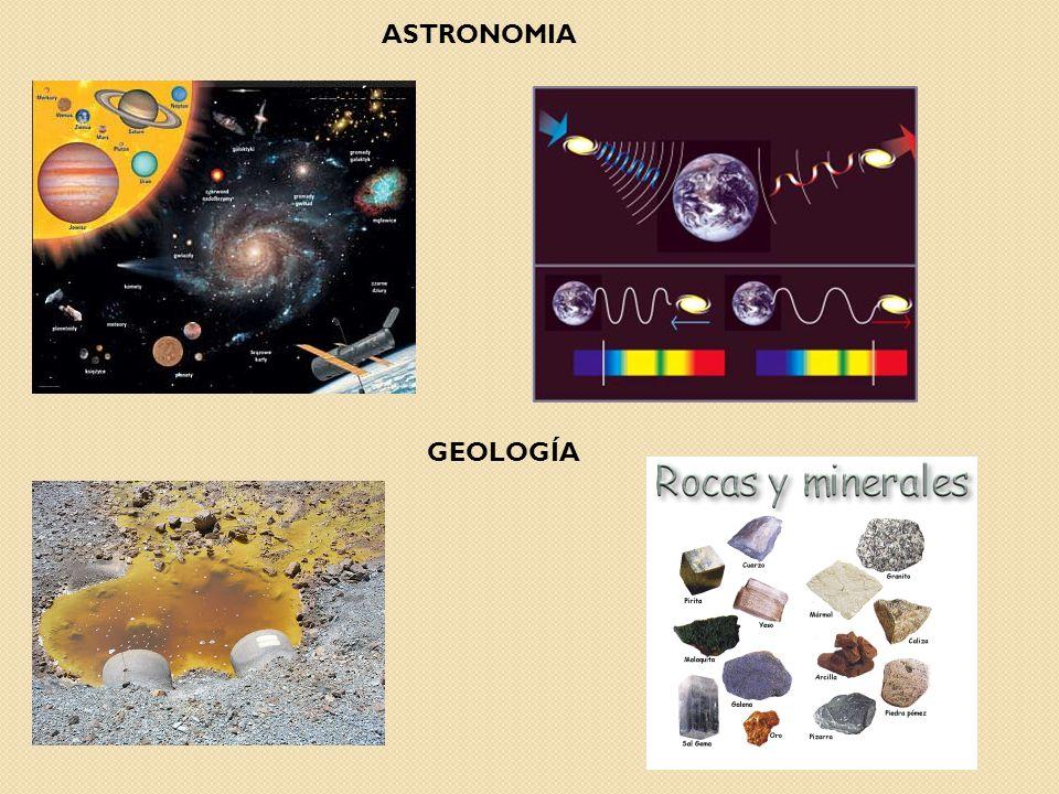 GEOLOGÍA ASTRONOMIA