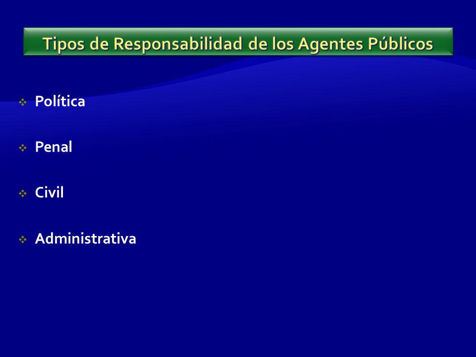 Política Penal Civil Administrativa