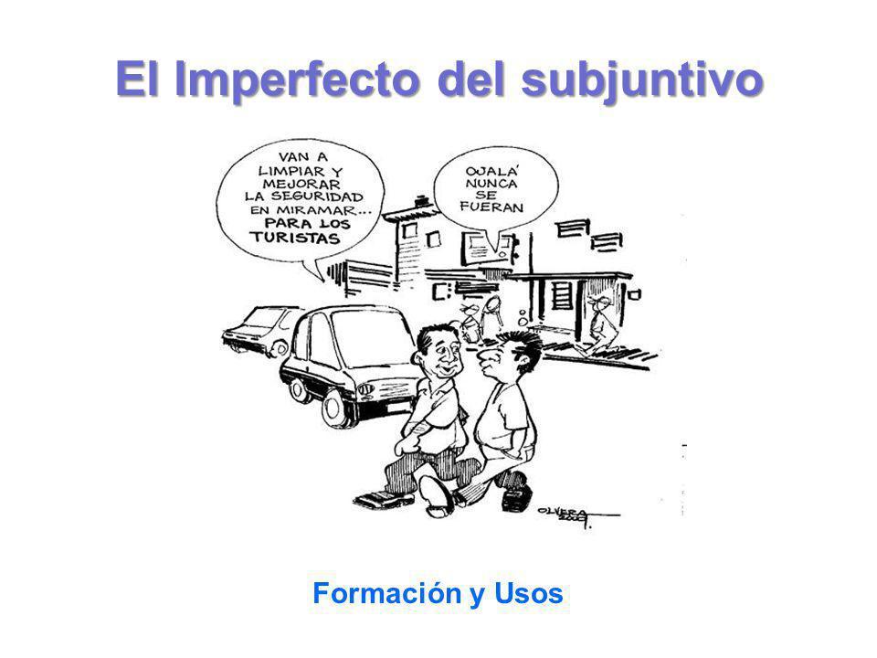 El Imperfecto del subjuntivo Formación y Usos