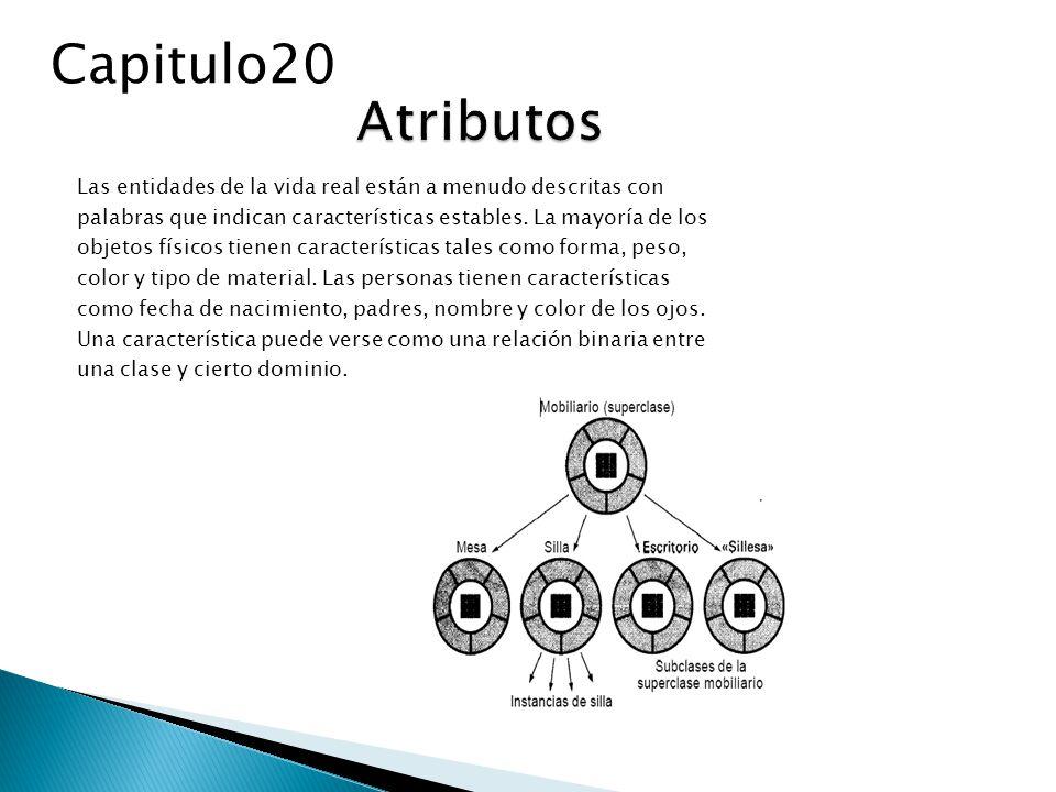 Los objetos se manifiestan de alguna de las formas mostradas en la Figura 20.9.