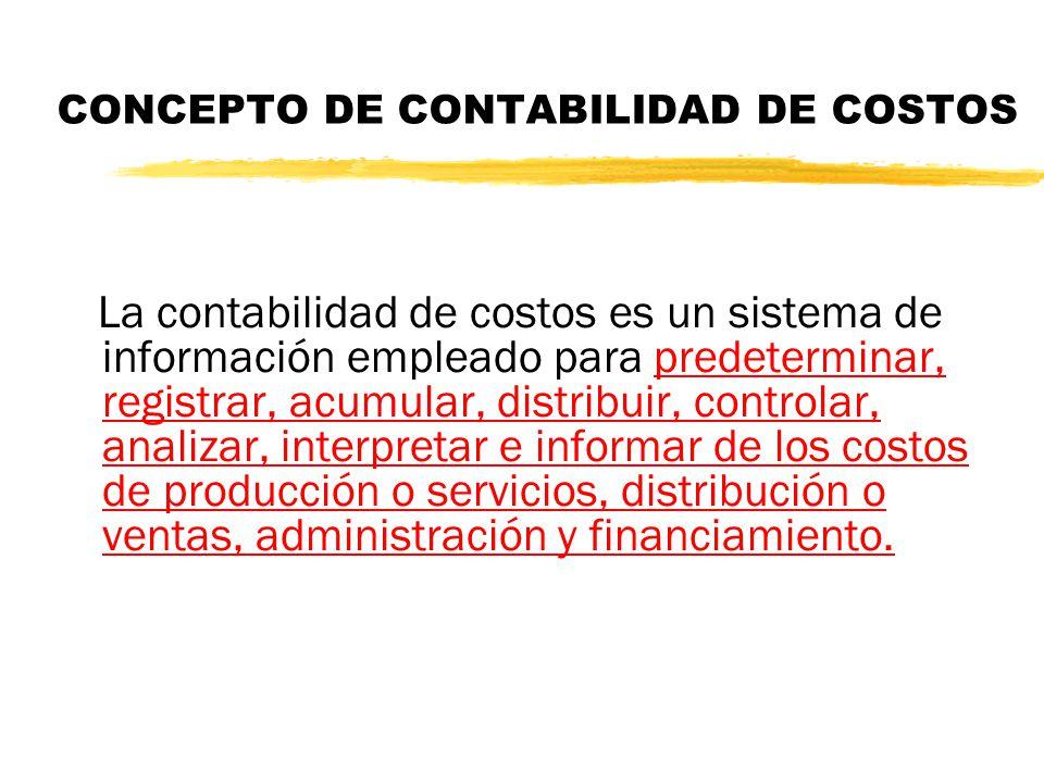 RELACIÓN ENTRE LOS DIFERENTES CAMPOS DE LA CONTABILIDAD CONTABILIDAD FINANCIERA CONTABILIDAD DE GESTION CONTABILIDAD DE COSTOS