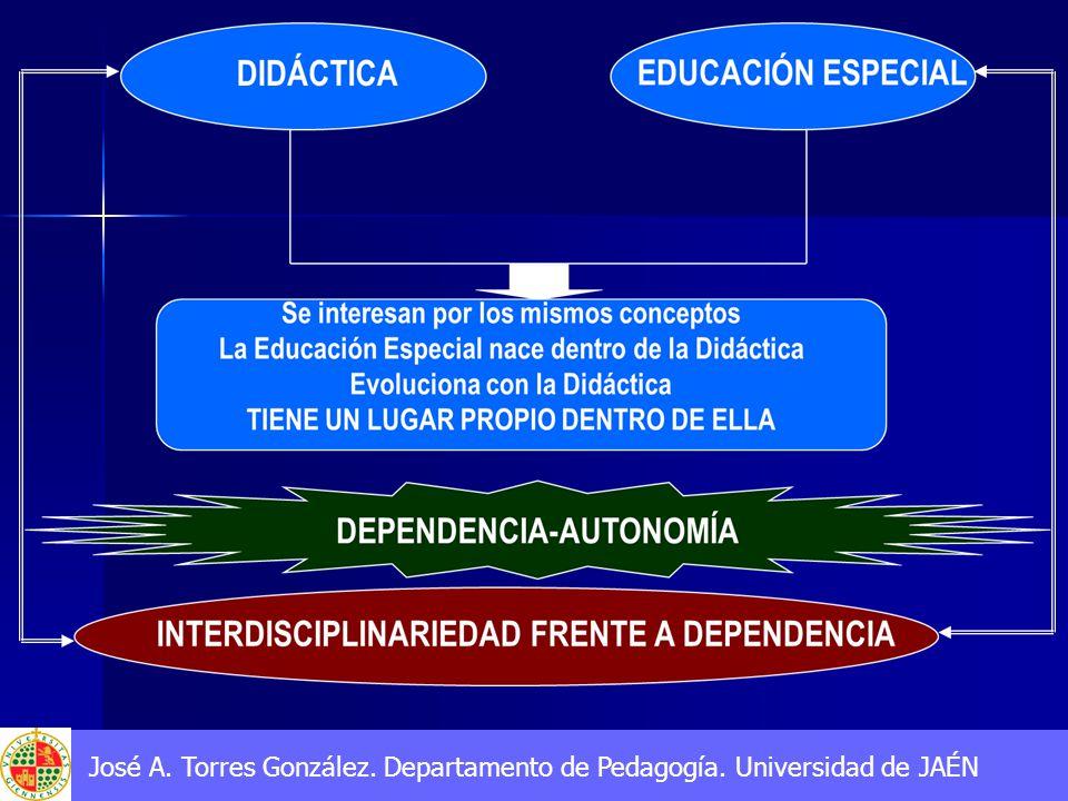 José A. Torres González. Departamento de Pedagogía. Universidad de JAÉN