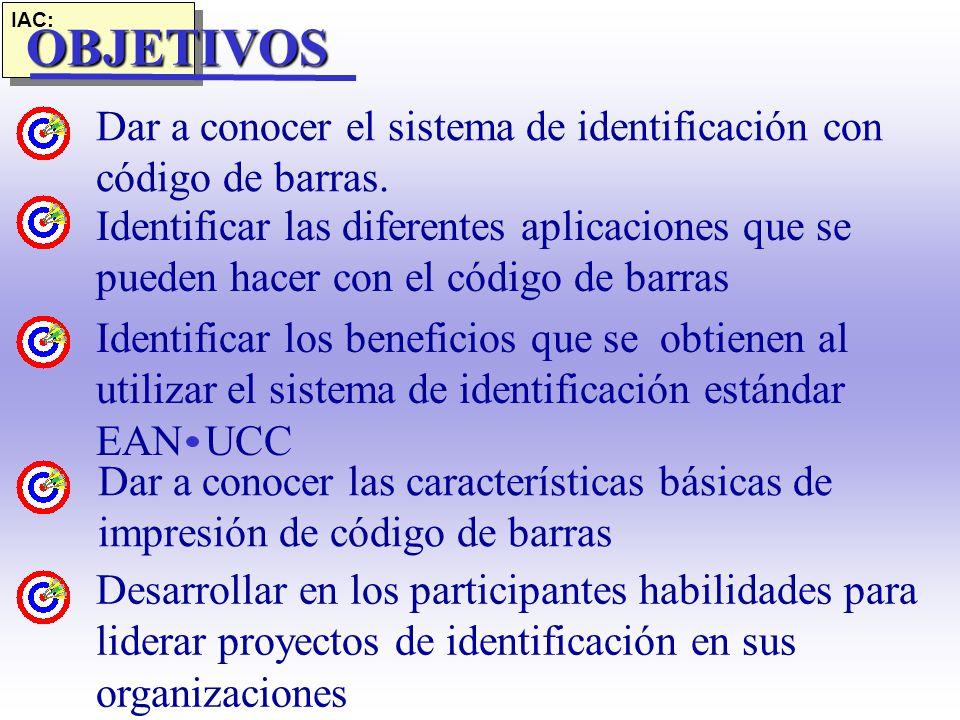 SEMINARIO DE IDENTIFICACIÓN CON CÓDIGO DE BARRAS SEMINARIO DE IDENTIFICACIÓN CON CÓDIGO DE BARRAS.