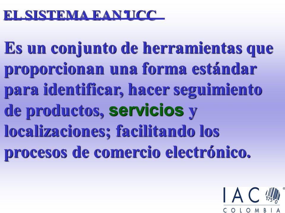 ] Introducción al Sistema EAN UCC. ] Quién es IAC de Colombia. ] Cadena de Abastecimiento y logística ] El sistema EAN UCC para identificación de unid
