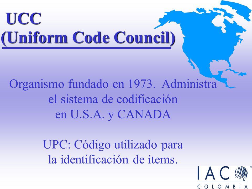 1.Permite la identificación única de productos, localizaciones y servicios, mediante un conjunto de estándares. ESTANDARES EAN UCC 2. Proporciona un l