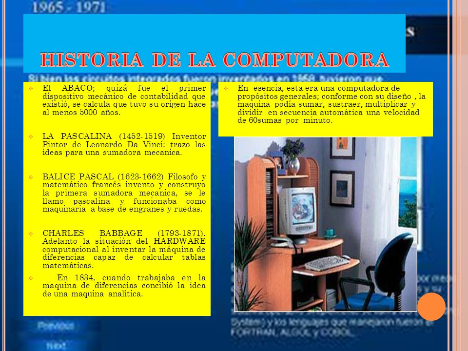 TABLA DE CONTENIDO HISTORIA DE LA CONPUTADORA. GENERACIONES DE CONPUTADORAS. CLASIFICACION DE COMPUTADORAS.