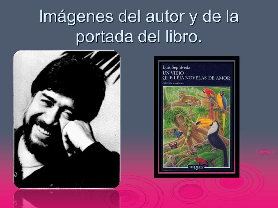 Imágenes del autor y de la portada del libro.