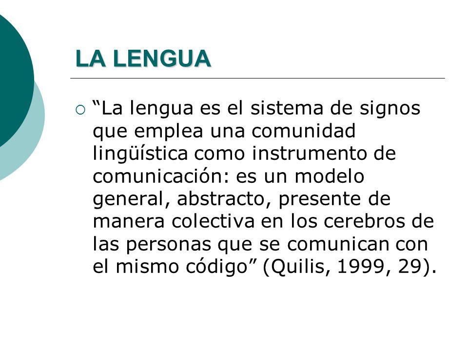 EL LENGUAJE El lenguaje es un método exclusivamente humano, y no instintivo, de comunicar ideas, emociones y deseos por medio de un sistema de símbolo