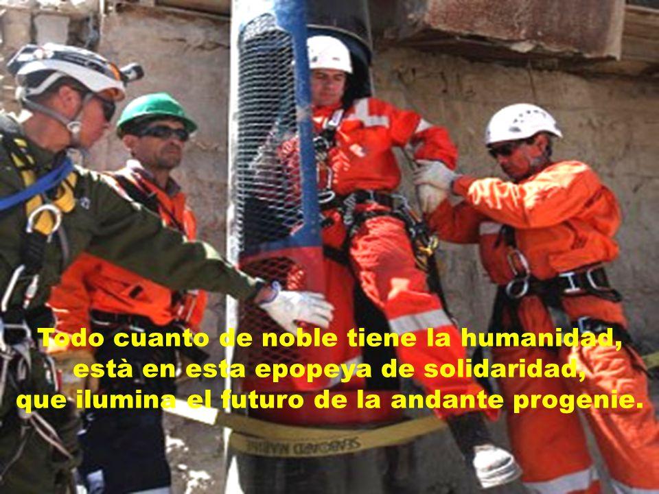Gloria al austral entorno, gloria al pueblo chileno, gloria a los hèroes esos...