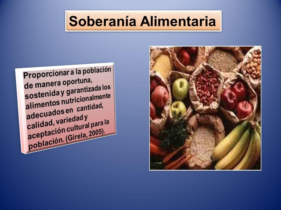CRBV (1999) Artículo 305 CRBV (1999) Artículo 305 El Estado promoverá la agricultura sustentable cono base estratégica del desarrollo Integral a fin de garantizar la seguridad alimentaria… El Estado promoverá la agricultura sustentable cono base estratégica del desarrollo Integral a fin de garantizar la seguridad alimentaria…