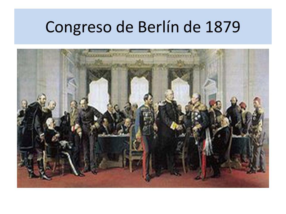 Congreso de Berlín de 1879