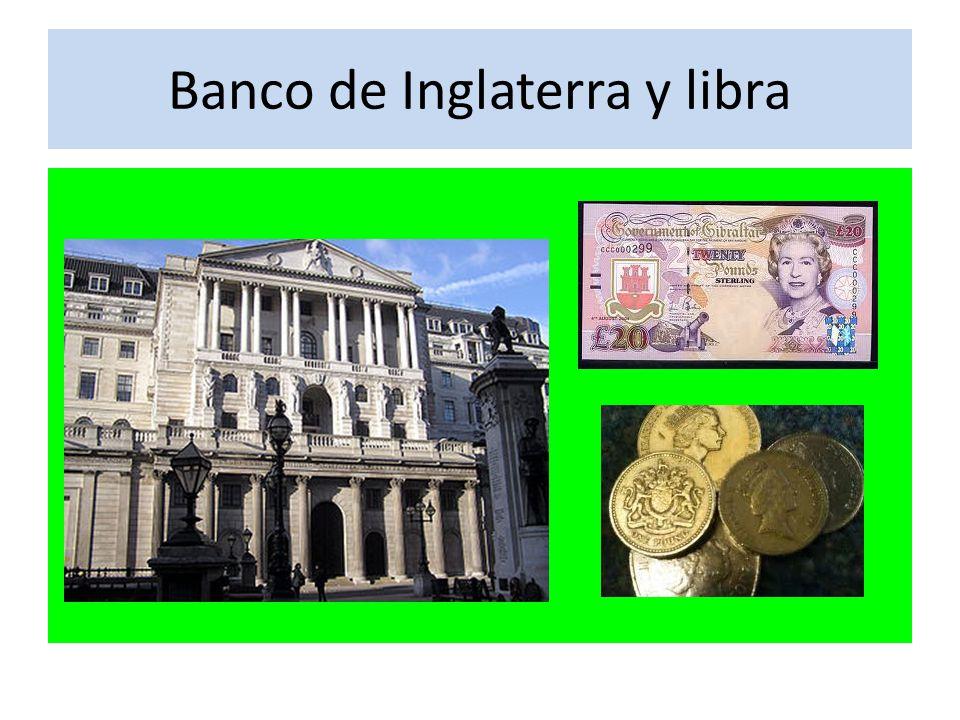 Banco de Inglaterra y libra