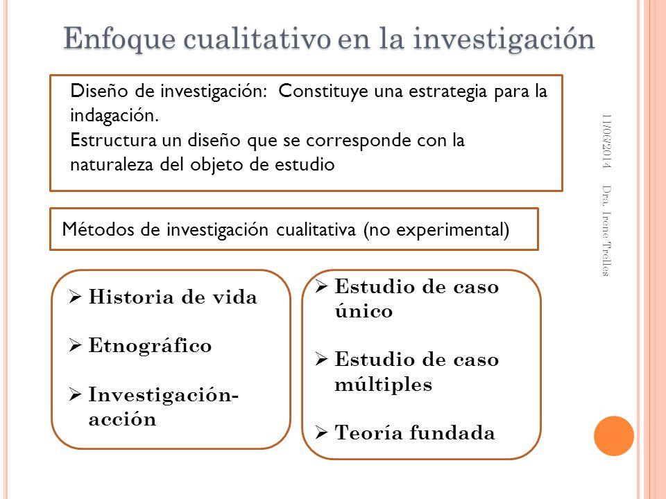 Diseño de investigación: Constituye una estrategia para la indagación. Estructura un diseño que se corresponde con la naturaleza del objeto de estudio