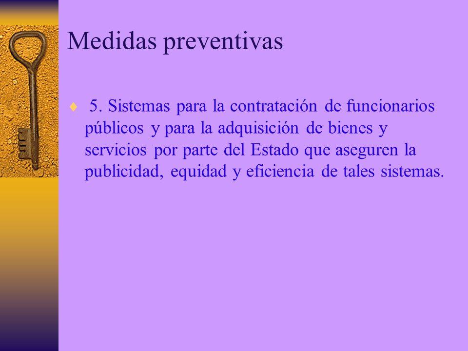 Medidas preventivas 5.