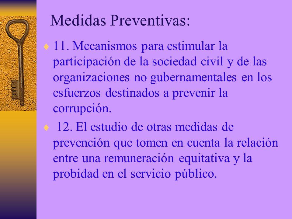 Medidas Preventivas: 11.