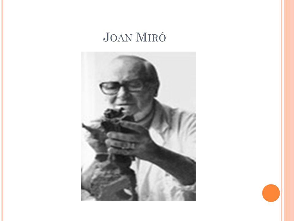 1926-1927 M IRÓ FORMABA SU PROPIO ESTILO.E RA MÁS ABSTRACTO Y SINTÉTICO.