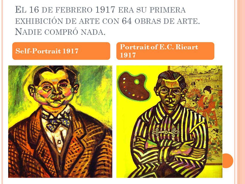 E N 1918 M IRÓ CAMBIÓ SU ESTILO DE ARTE A DETAILED ELABORATION.