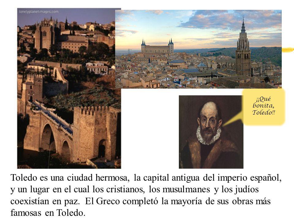 El Entierro del Señor Orgaz zEsta obra representa un milagro legendario que occurió en 1323, cuando se murió el Conde Orgaz.