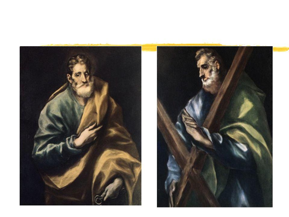 The Disrobing of Christ z Muchas de sus pinturas eran religiosas.