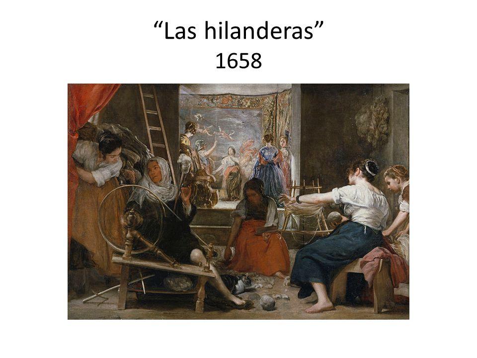 Las hilanderas 1658