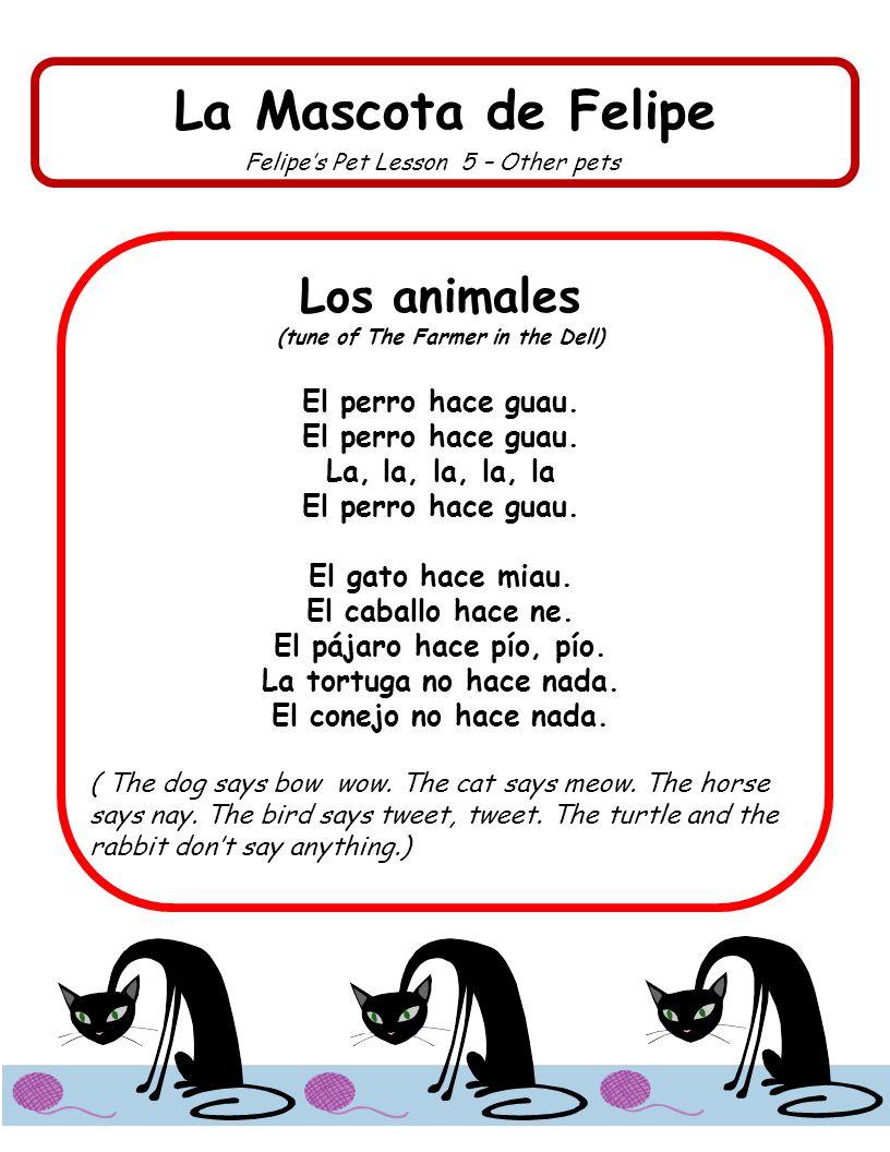 La Mascota de Felipe Felipes Pet Lesson 6 – Which pet.